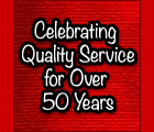 Over 50 Years of Quality Service